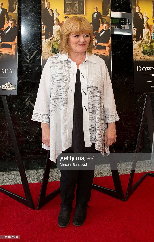 Actress Lesley Nicol attends the 'Downton Abbey' For Your Consideration event and reception at Linwood Dunn Theater at the Pickford Center for Motion Study on April 30, 2016 in Hollywood, California.