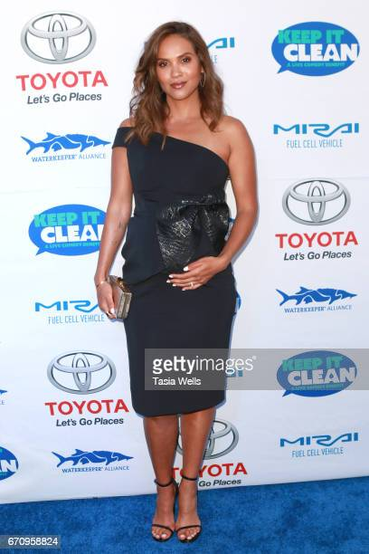 Actress LesleyAnn Brandt attends Keep it Clean Live Comedy Benefit for Waterkeeper Alliance at Avalon Hollywood on April 20 2017 in Los Angeles...