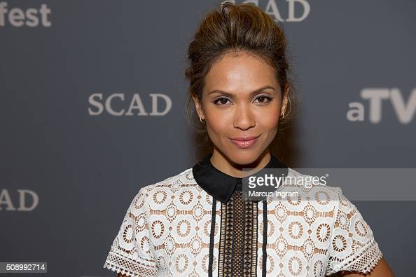 Actress LesleyAnn Brandt attends SCAD aTVfest 2016 Day 4 at the Four Seasons Atlanta Hotel on February 7 2016 in Atlanta Georgia