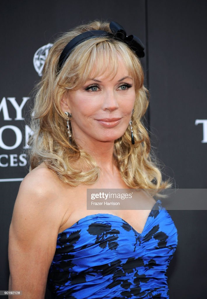 Actress Lesley-Anne Down attends the 36th Annual Daytime Emmy Awards at The Orpheum Theatre on August 30, 2009 in Los Angeles, California. (Photo by Frazer Harrison/Getty Images