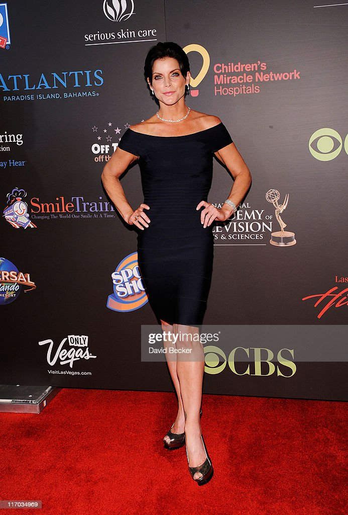 Actress Lesli Kay arrives at the 38th Annual Daytime Entertainment Emmy Awards held at the Las Vegas Hilton on June 19, 2011 in Las Vegas, Nevada.