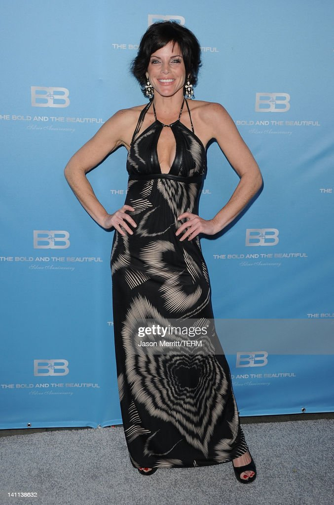 Actress Lesli Kay attends the 5th Silver Anniversary party for CBS' 'The Bold And The Beautifu on March 10, 2012 in Los Angeles, California.