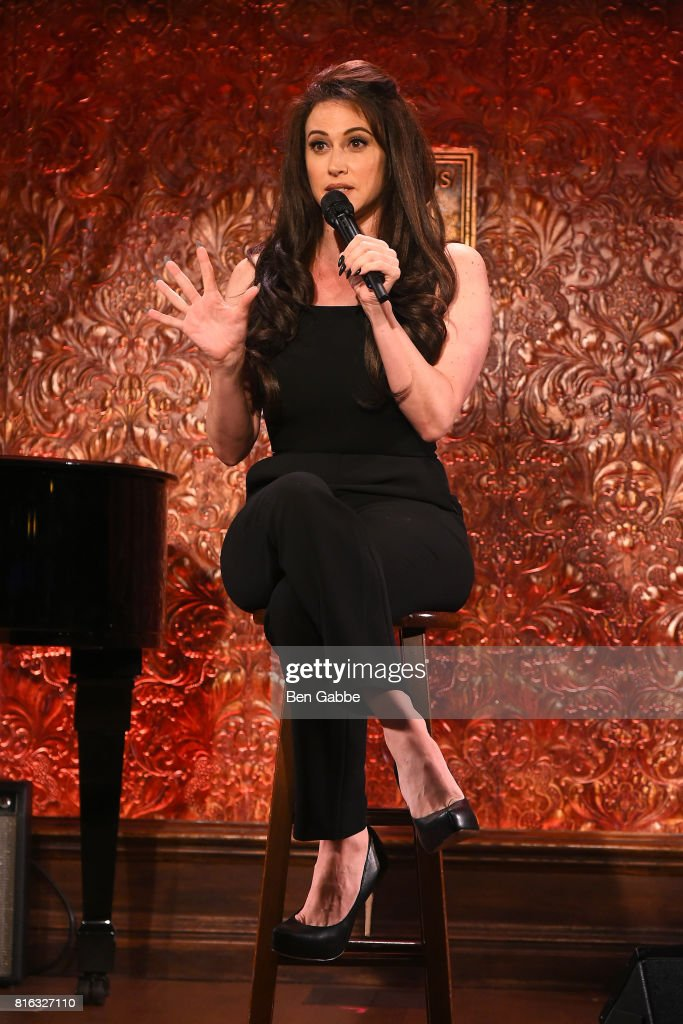 Actress Lesli Margherita performs during Feinstein's/54 Below Press Preview at 54 Below on July 17, 2017 in New York City.