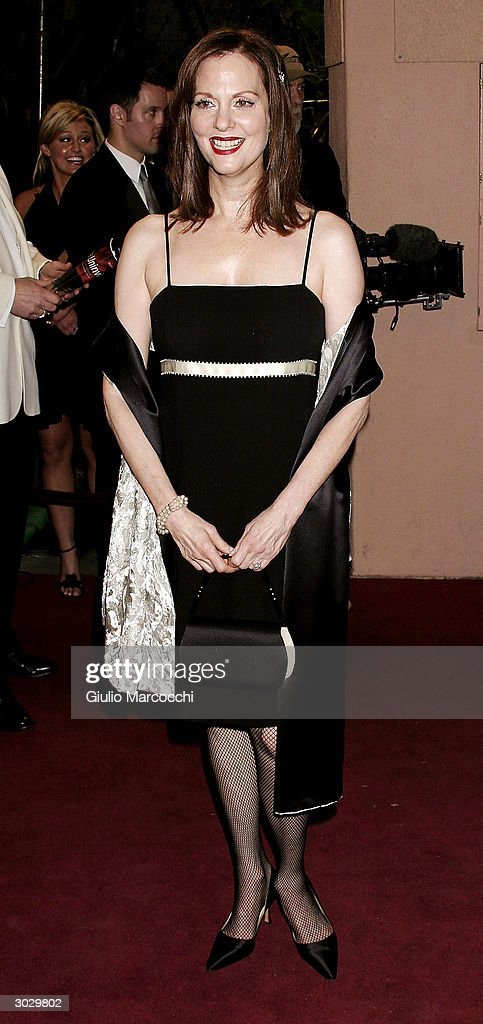 Actress Leslie Ann Warren arrives at the 13th Annual Night of 100 Stars Oscar Viewing Black Tie Gala, February 29, 2004 at the Beverly Hills Hotel in Beverly Hills, California.