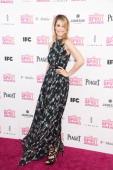 Actress Leslie Bibb attends the 2013 Film Independent Spirit Awards at Santa Monica Beach on February 23 2013 in Santa Monica California