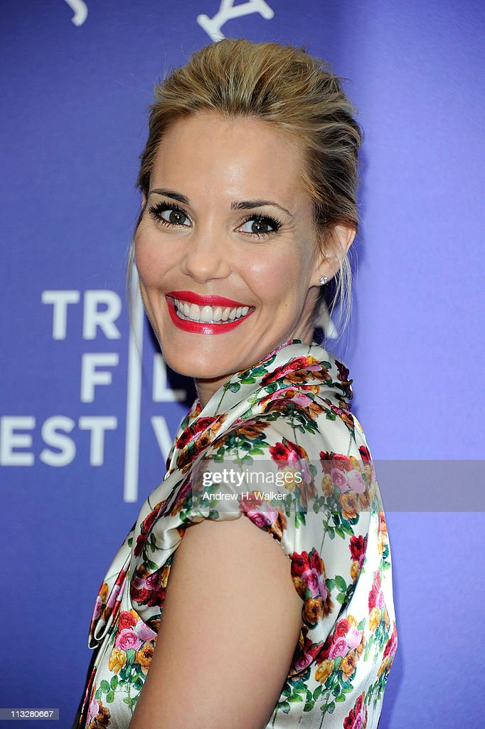Actress Leslie Bibb attends the premiere of 'A Good Old Fashioned Orgy' during the 2011 Tribeca Film Festival at SVA Theater on April 29, 2011 in New York City.
