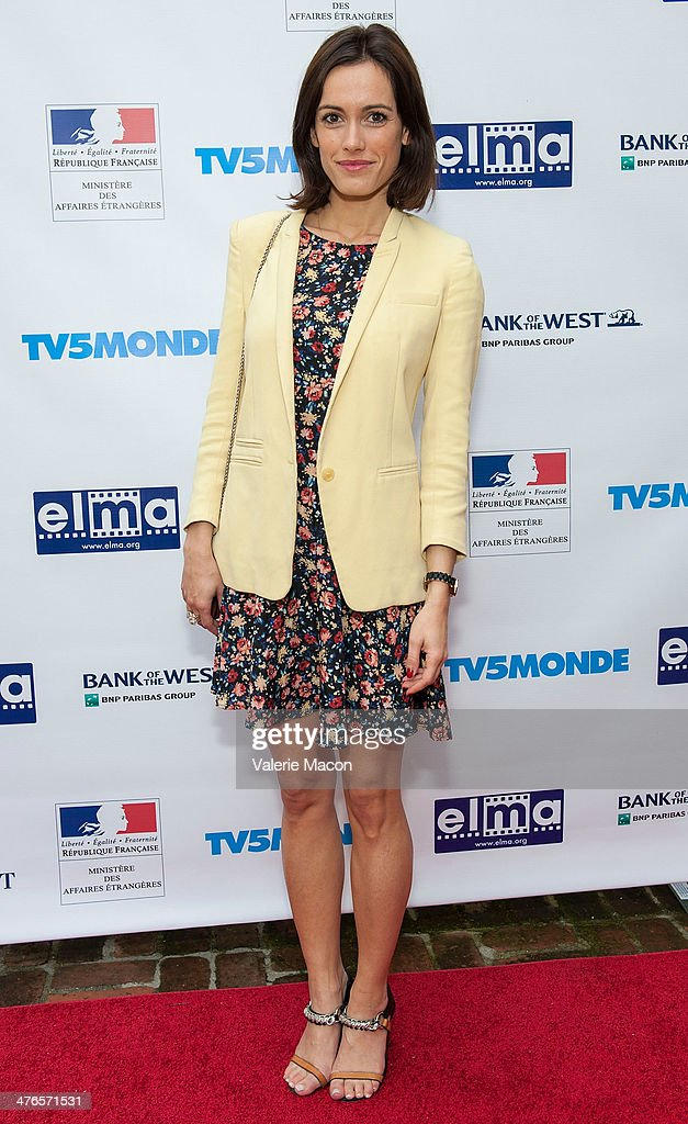 Actress Leslie Coutterand attends The Consul General Of France, Mr. Axel Cruau, Honors The French Nominees For The 86th Annual Academy Awards party on March 3, 2014 in Beverly Hills, California.
