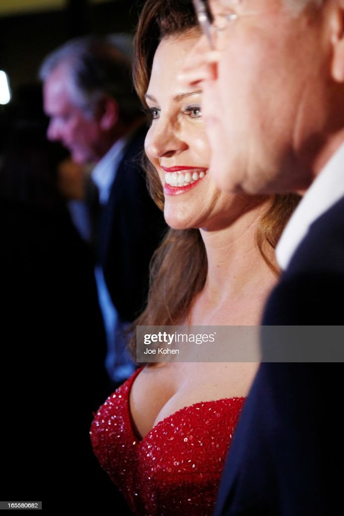 Actress Leslie Harter Zemeckis attends The Academy Of Motion Picture Arts And Sciences' 25th Anniversary Screening Of 'Who Framed Roger Rabbit' at AMPAS Samuel Goldwyn Theater on April 4, 2013 in Beverly Hills, California.