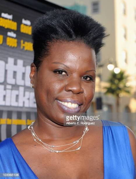 Actress Leslie Jones arrives at the premiere of Warner Bros' 'Lottery Ticket' at Grauman's Chinese Theater on August 12 2010 in Hollywood California