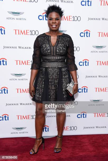 Actress Leslie Jones attends 2017 Time 100 Gala at Frederick P Rose Hall Jazz at Lincoln Center on April 25 2017 in New York City