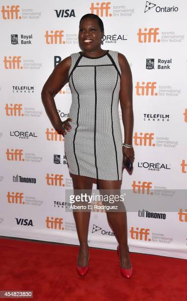 Actress Leslie Jones attends the 'Top Five' premiere during the 2014 Toronto International Film Festival at Princess of Wales Theatre on September 6...
