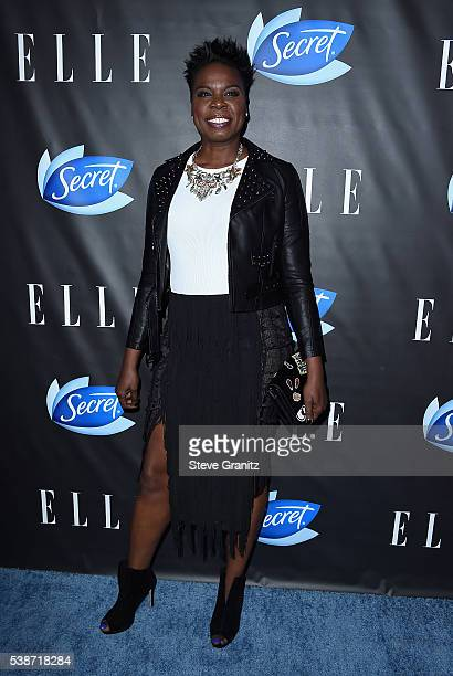 Actress Leslie Jones attends the Women In Comedy event with July cover stars Leslie Jones Melissa McCarthy Kate McKinnon and Kristen Wiig hosted by...