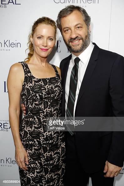 Actress Leslie Mann and director Judd Apatow attend the 22nd Annual ELLE Women in Hollywood Awards presented by Calvin Klein Collection L'Oréal Paris...