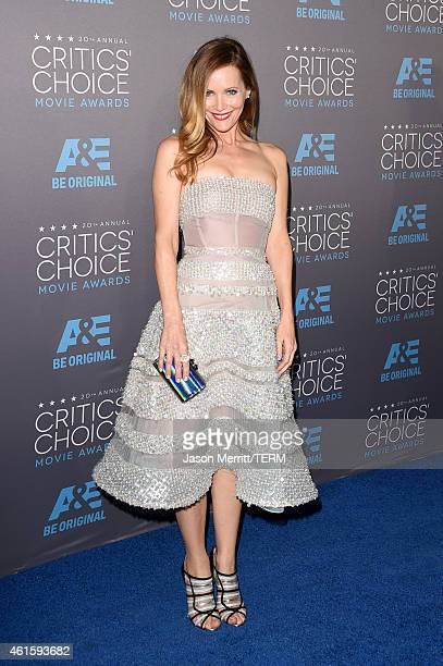 Actress Leslie Mann and producer Judd Apatow attend the 20th annual Critics' Choice Movie Awards at the Hollywood Palladium on January 15 2015 in Los...