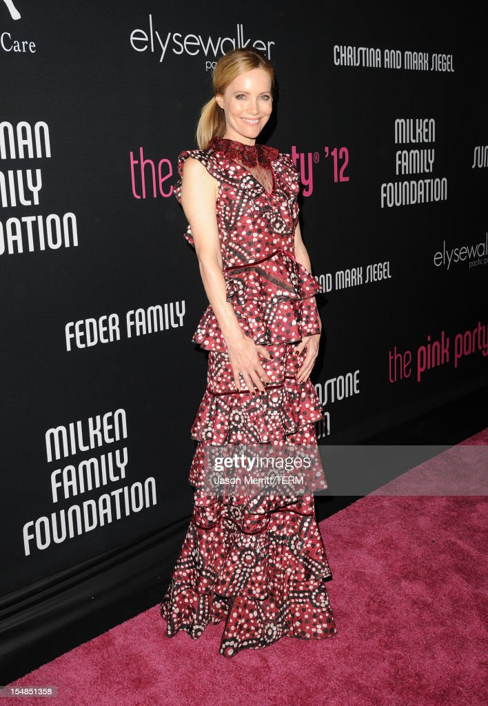Actress <a gi-track='captionPersonalityLinkClicked' href=/galleries/search?phrase=Leslie+Mann&family=editorial&specificpeople=595973 ng-click='$event.stopPropagation()'>Leslie Mann</a> arrives at Elyse Walker presents the 8th annual Pink Party hosted by Michelle Pfeiffer to benefit Cedars-Sinai Women's Cancer Program held at