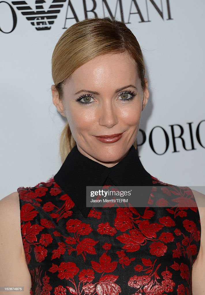 Actress Leslie Mann arrives at Teen Vogue's 10th Anniversary young Hollywood party on September 27, 2012 in Beverly Hills, California.