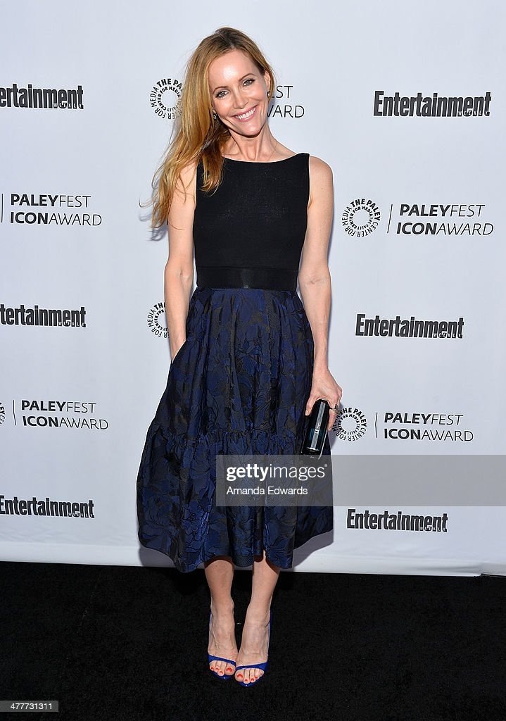 Actress <a gi-track='captionPersonalityLinkClicked' href=/galleries/search?phrase=Leslie+Mann&family=editorial&specificpeople=595973 ng-click='$event.stopPropagation()'>Leslie Mann</a> arrives at the 2014 Paleyfest Icon Award ceremony honoring Judd Apatow at The Paley Center for Media on March 10, 2014 in Beverly Hills, California.