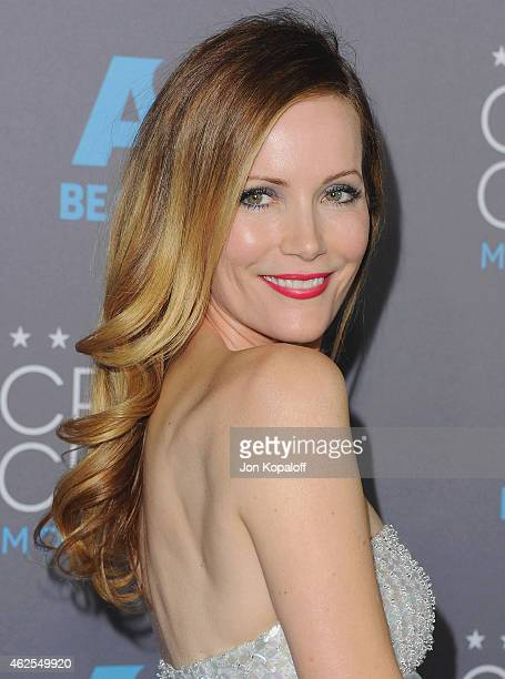 Actress Leslie Mann arrives at the 20th Annual Critics' Choice Movie Awards at Hollywood Palladium on January 15 2015 in Los Angeles California