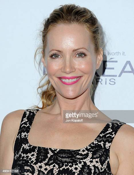 Actress Leslie Mann arrives at the 22nd Annual ELLE Women In Hollywood Awards at Four Seasons Hotel Los Angeles at Beverly Hills on October 19 2015...