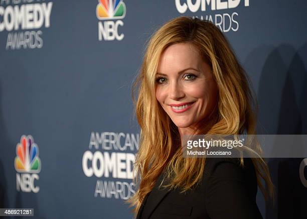 Actress Leslie Mann attends 2014 American Comedy Awards at Hammerstein Ballroom on April 26 2014 in New York City