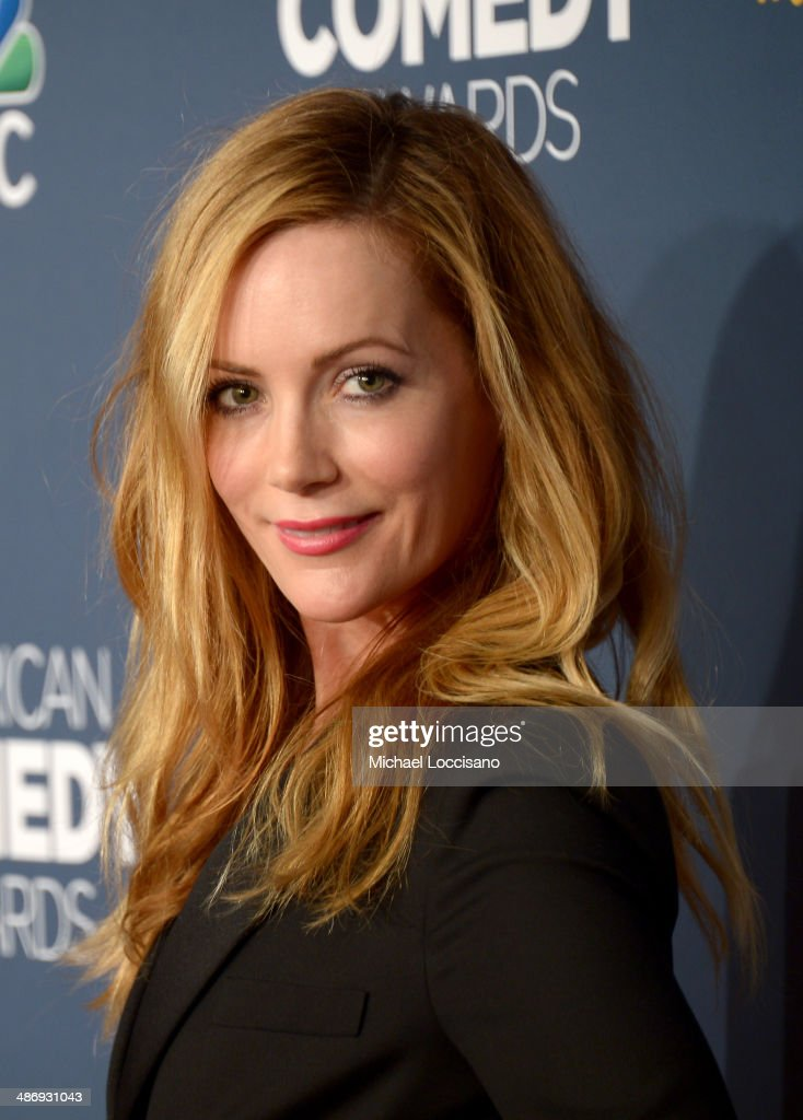 Actress Leslie Mann attends 2014 American Comedy Awards at Hammerstein Ballroom on April 26, 2014 in New York City.