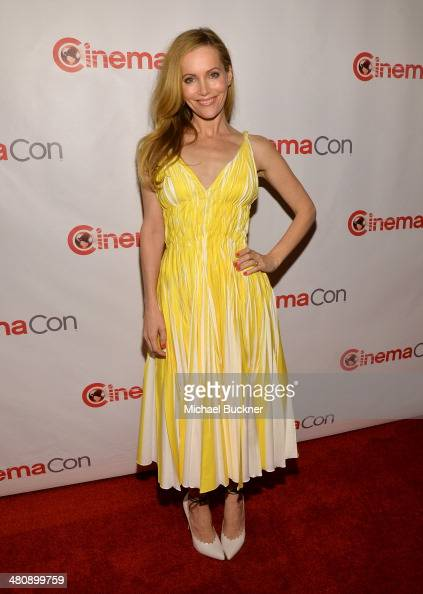 Actress Leslie Mann attends 20th Century Fox's Special Presentation Highlighting Its Future Release Schedule during CinemaCon the official convention...
