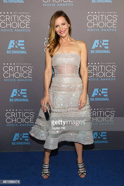 Actress Leslie Mann attends The 20th Annual Critics' Choice Movie Awards at Hollywood Palladium on January 15 2015 in Los Angeles California