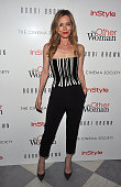 Actress Leslie Mann attends The Cinema Society Bobbi Brown With InStyle screening of 'The Other Woman' at The Paley Center for Media on April 24 2014...