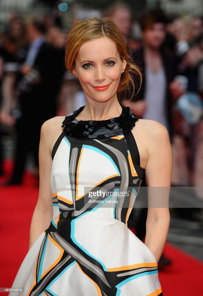 Actress Leslie Mann attends 'The Other Woman' UK premiere at the Curzon Mayfair on April 2, 2014 in London, England.