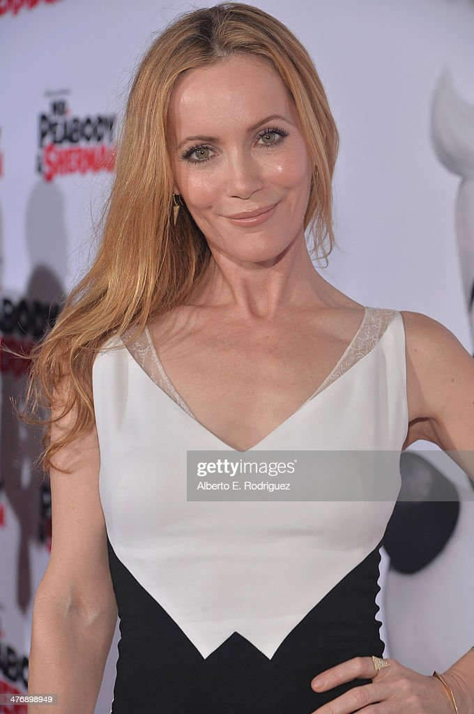 Actress Leslie Mann attends the premiere of Twentieth Century Fox and DreamWorks Animation's 'Mr. Peabody & Sherman' at Regency Village Theatre on March 5, 2014 in Westwood, California.
