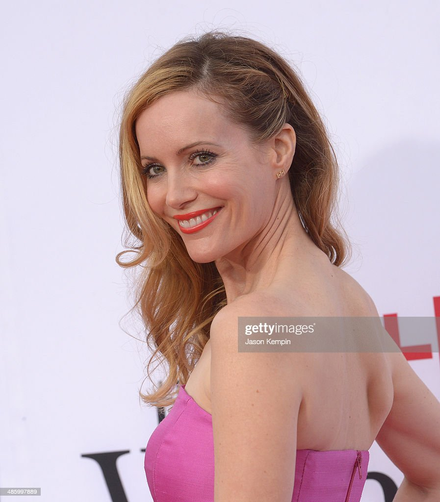Actress Leslie Mann attends the premiere of Twentieth Century Fox's 'The Other Woman' at Regency Village Theatre on April 21, 2014 in Westwood, California.