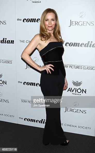 Actress Leslie Mann attends the screening of Sony Pictures Classics' 'The Comedian' hosted by The Cinema Society with Avion and Jergens at Museum of...