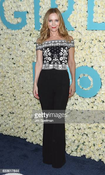 Actress Leslie Mann attends the the New York premiere of the sixth and final season of 'Girls' at Alice Tully Hall Lincoln Center on February 2 2017...