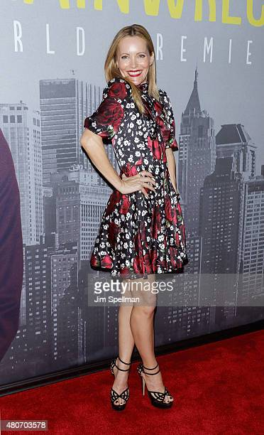 Actress Leslie Mann attends the 'Trainwreck' New York premiere at Alice Tully Hall on July 14 2015 in New York City