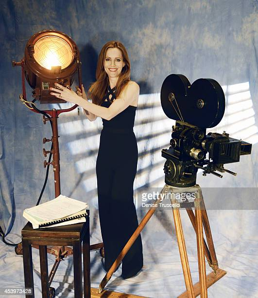 Actress Leslie Mann is photographed for People Magazine on March 27 2014 in Las Vegas Nevada