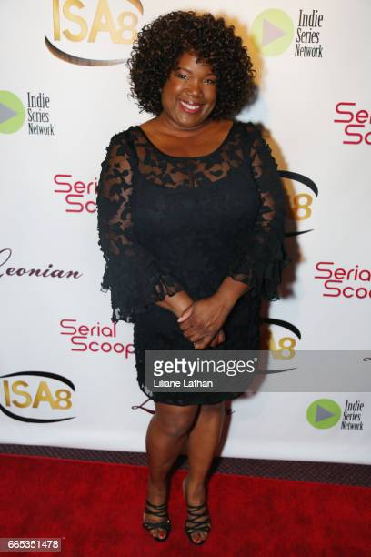 Actress Leslie Thurston arrives at the 8th Annual Indie Series Awards at The Colony Theater on April 5 2017 in Burbank California