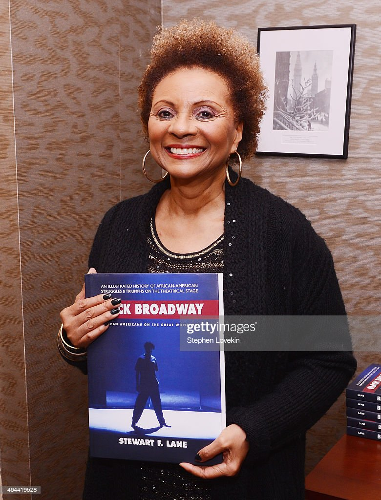 Actress Leslie Uggams attends a special event celebrating the release of the new book 'Black Broadway African Americans On The Great White Way' as a...