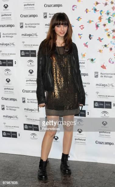 Actress Leticia Dolera attends 'Malaga Film Festival' presentation party at Casa de America on March 23 2010 in Madrid Spain