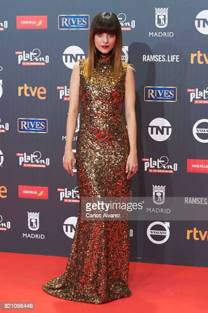 Actress Leticia Dolera attends the Platino Awards 2017 photocall at the La Caja Magica on July 22 2017 in Madrid Spain
