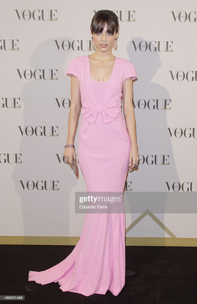 Actress Leticia Dolera attends Vogue joyas 2013 awards photocall at Madrid stock exchange on December 11, 2013 in Madrid, Spain.