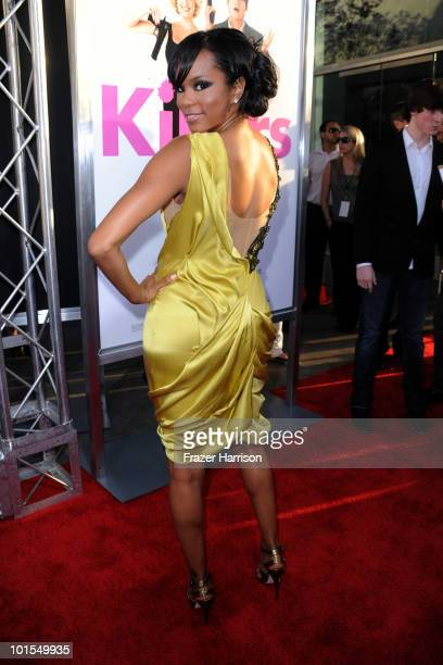 Actress Letoya Luckett arrives to the premiere of Lionsgate's 'Killers' held at ArcLight Cinema's Cinerama Dome on June 1 2010 in Hollywood California