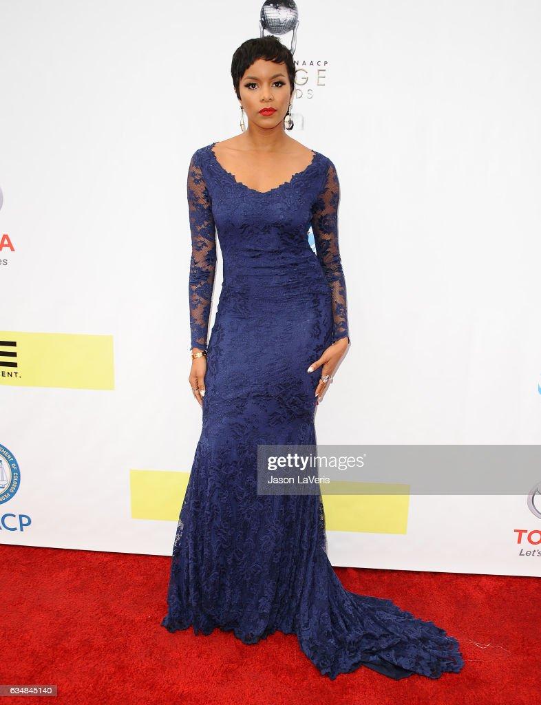 Actress LeToya Luckett attends the 48th NAACP Image Awards at Pasadena Civic Auditorium on February 11, 2017 in Pasadena, California.