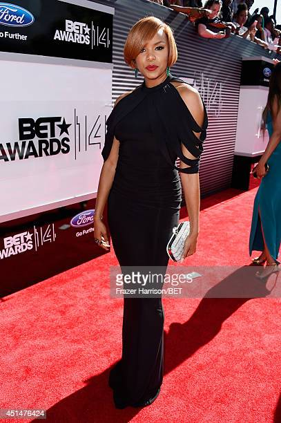 Actress Letoya Luckett attends the BET AWARDS '14 at Nokia Theatre LA LIVE on June 29 2014 in Los Angeles California