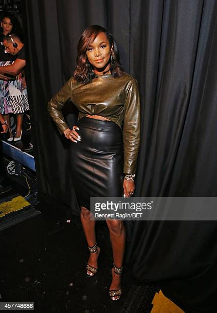Actress LeToya Luckett visits 106 Park at BET studio on October 22 2014 in New York City