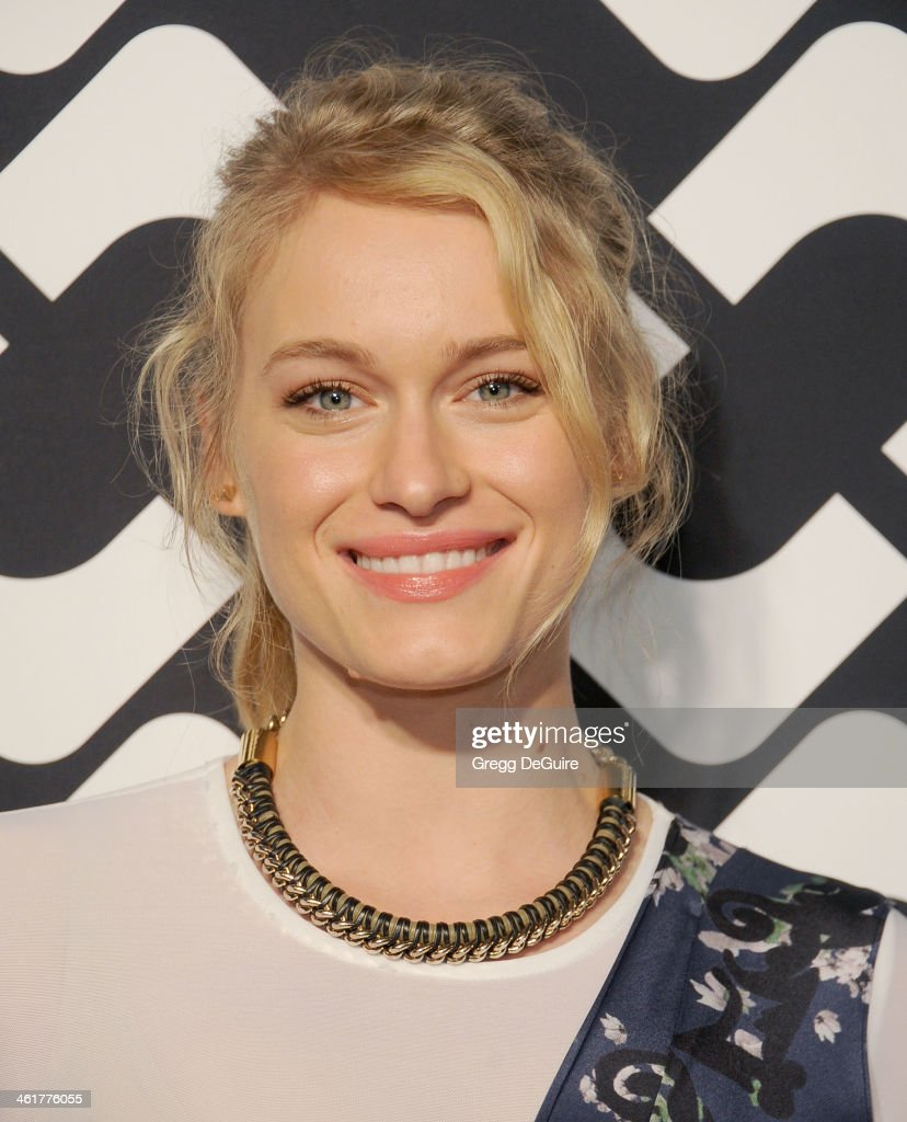 Actress <a gi-track='captionPersonalityLinkClicked' href=/galleries/search?phrase=Leven+Rambin&family=editorial&specificpeople=545914 ng-click='$event.stopPropagation()'>Leven Rambin</a> arrives at Diane Von Furstenberg's 'Journey Of A Dress' premiere opening party at Wilshire May Company Building on January 10, 2014 in Los Angeles, California.