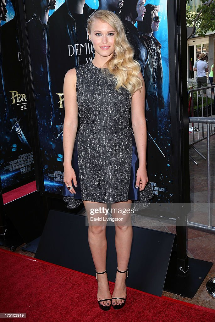 Actress Leven Rambin attends a screening of Twentieth Century Fox and Fox 2000's 'Percy Jackson: Sea of Monsters' at The Americana at Brand on July 31, 2013 in Glendale, California.