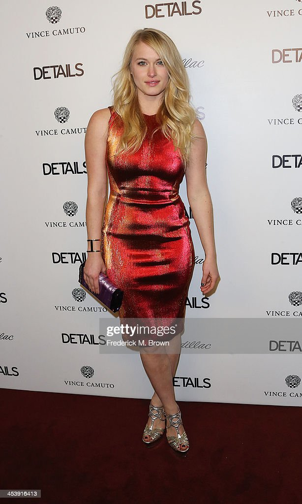 Actress Leven Rambin attends DETAILS Celebrates The 2013 Hollywood Mavericks at the Soho House on December 5, 2013 in West Hollywood, California.