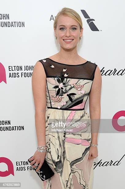 Actress Leven Rambin attends the 22nd Annual Elton John AIDS Foundation Academy Awards Viewing Party at The City of West Hollywood Park on March 2...