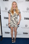 Actress Leven Rambin joins Conde Nast Traveler as they celebrate The Leading Hotels Of The World 85th Anniversary at Mr C Beverly Hills on February...