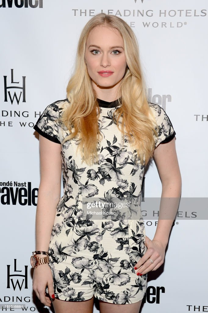 Actress Leven Rambin joins Conde Nast Traveler as they celebrate The Leading Hotels Of The World 85th Anniversary at Mr. C Beverly Hills on February 13, 2013 in Beverly Hills, California.